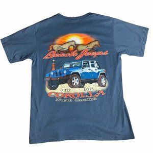 Beech Jeeps North Carolina Vintage Tee